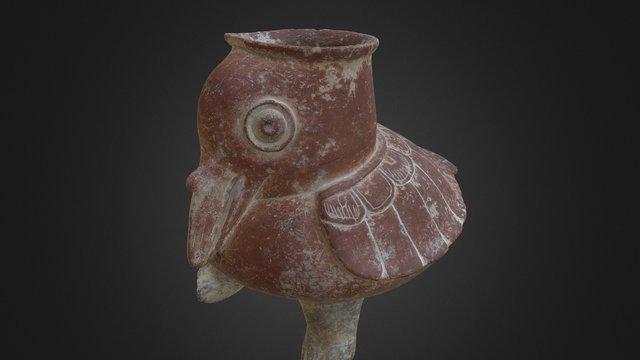 Ceramic Pelican, Belize