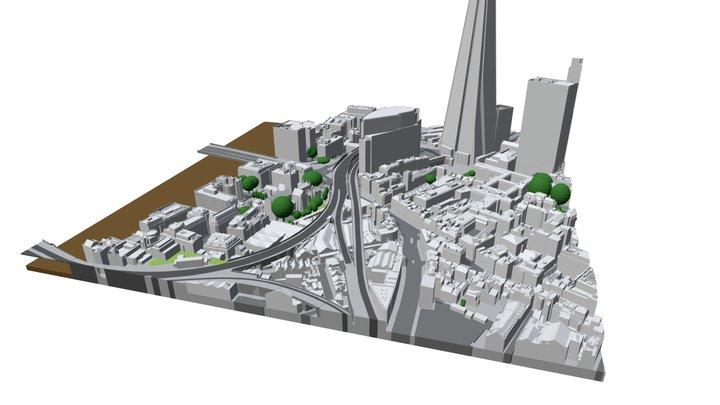 3D Model   Level 3   London Sample 3D Model