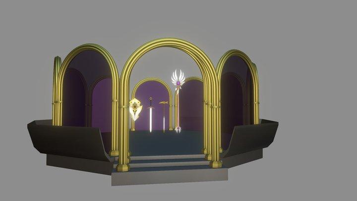 Angelic Arsenal 3D Model