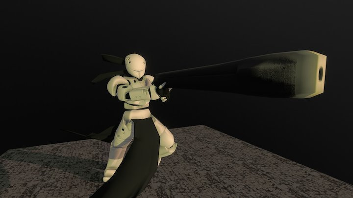 Electro- Fisherman [Blame!] 3D Model