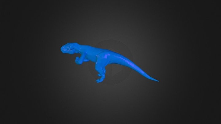Beefy T-Rex 3D Model