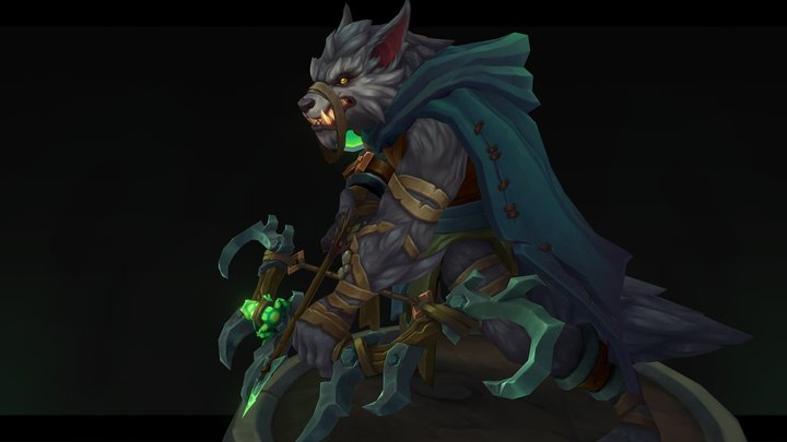 Pestilence - Runescape 3D Model