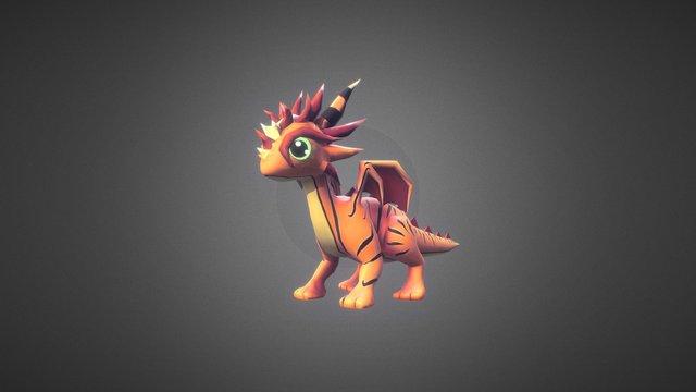 Little Dragons: Tiger Drago 3D Model