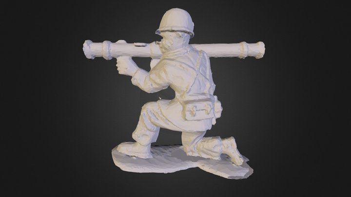 soldier4D 3D Model