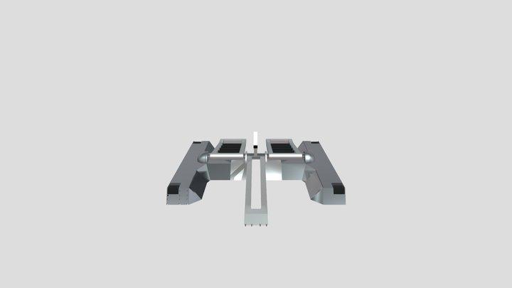 Trihurts 3D Model