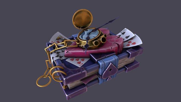 Wonderland Book 3D Model