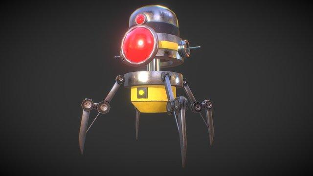 Land Robot 3D Model