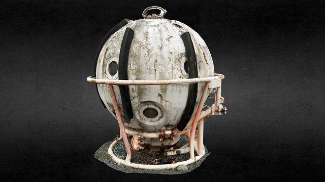 Saturation Diving Bell 3D Model