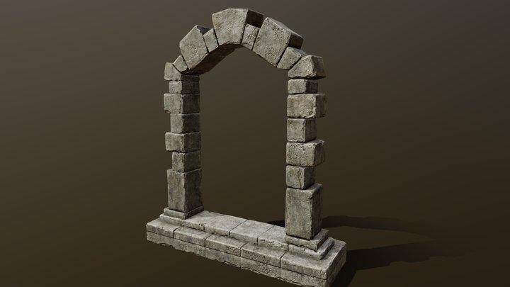 Stone Arch [DEP] 3D Model