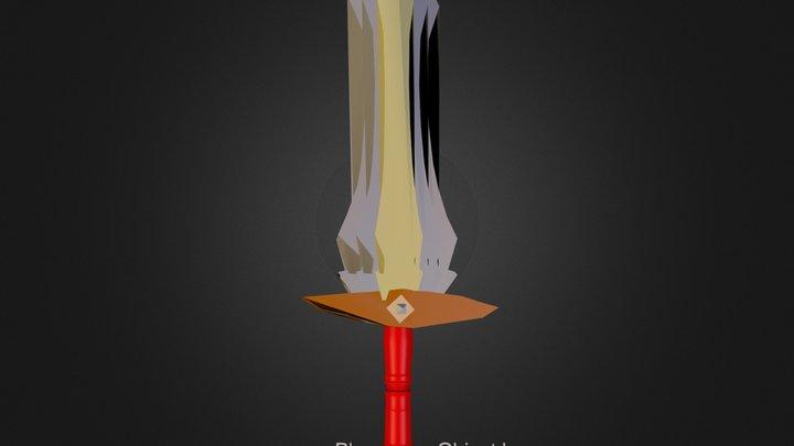 Ancient Sword Model 3D Model