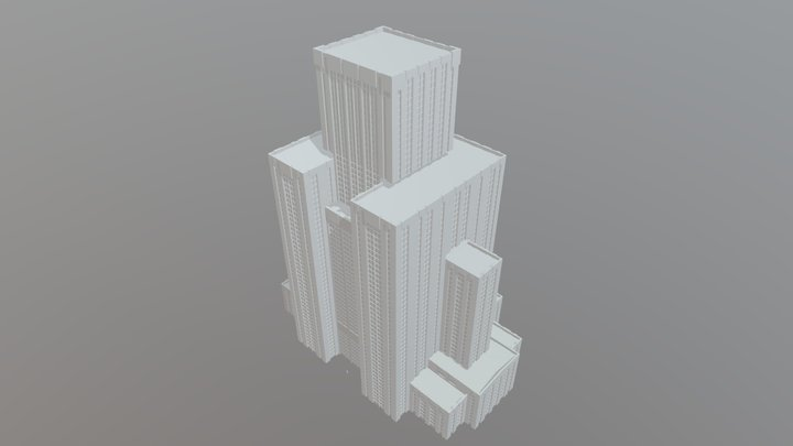 Mystery Tower3 3D Model