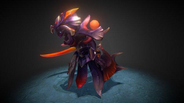 Royal Wraith - Dota 2 Spectre set 3D Model