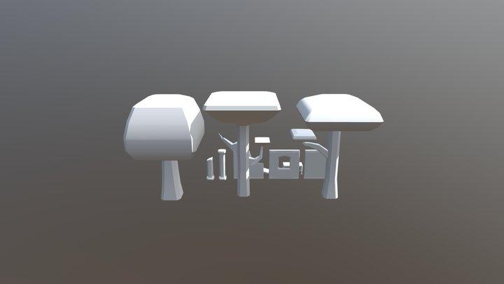 TNH_Modular Environment 3D Model