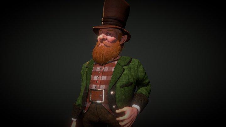 Leprechaun 3D Model
