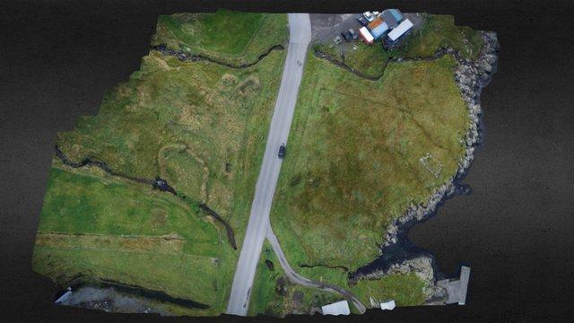 Sund, Faroe Islands 3D Model