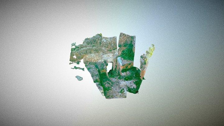 Giriş Alanı, Perre Antik Kenti, Adıyaman 3D Model