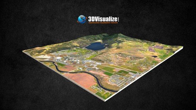 River District 3D Model