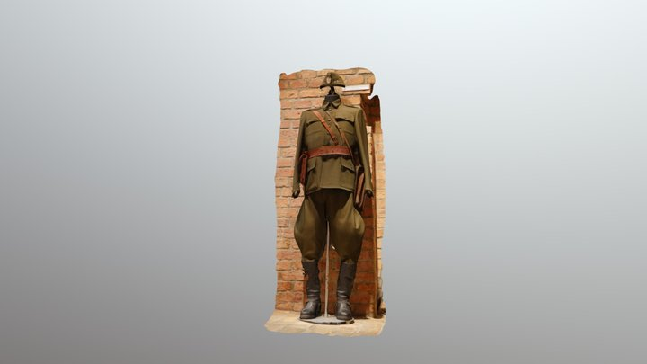 WWII Uniform 3D Model