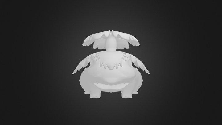 Venosaur 3D Model