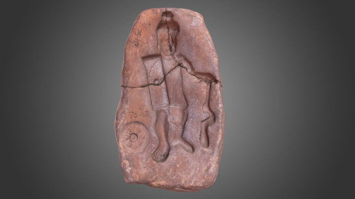 Warrior god mould 3D Model