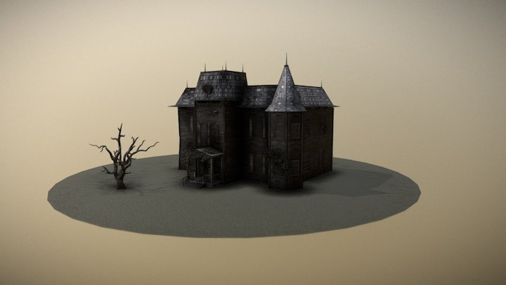 IT (2017) - house from the movie. 3D Model