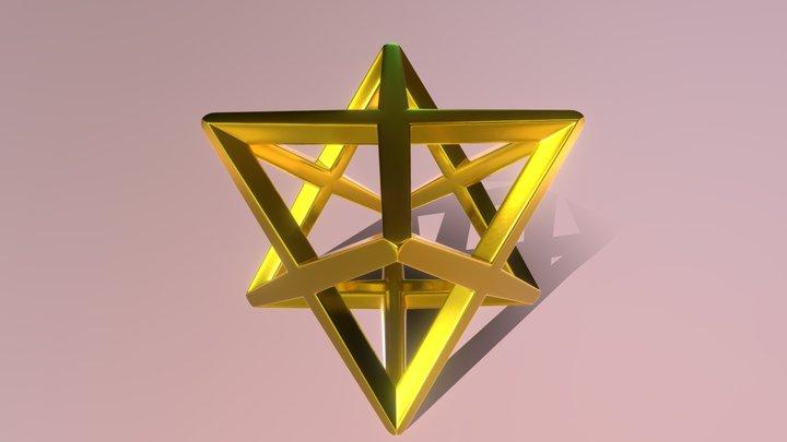 Merkaba - LightVehicle 3D Model
