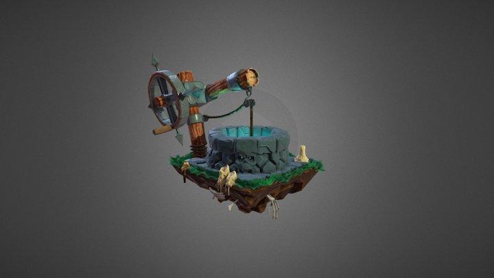 Spooky Well 3D Model