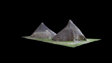 Castell Henllys 3D Model