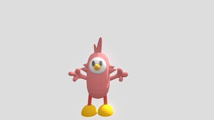 Flamingo (Fall Guys Skin) 3D Model