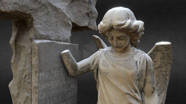 Cemetery Angel - Furey 3D Model