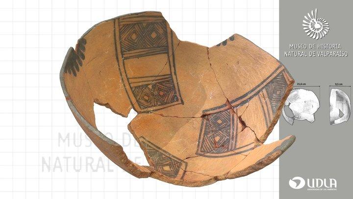 Escudilla de cerámica / Ceramic Bowl 3D Model
