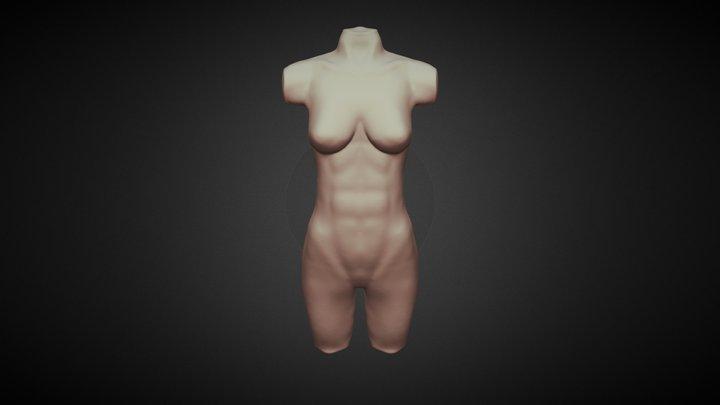 Day23: Body Female 3D Model