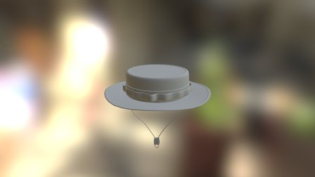 Boonie Hat 3D Model