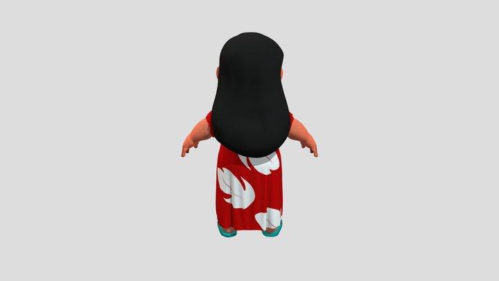 Lilo Final Export V2 3D Model