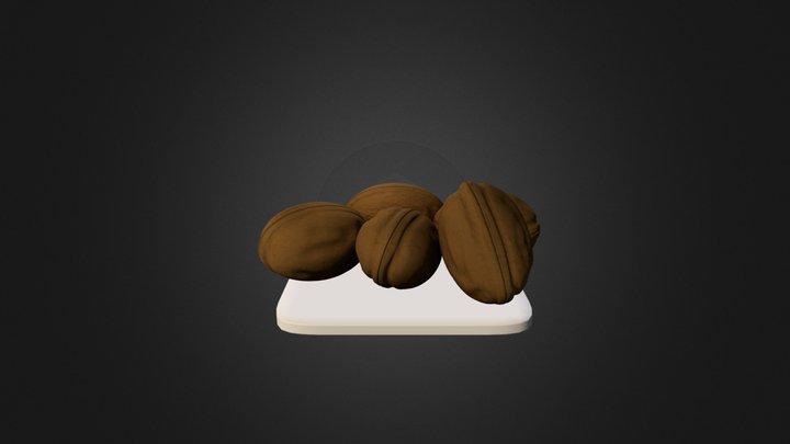Walnuts 3D Model