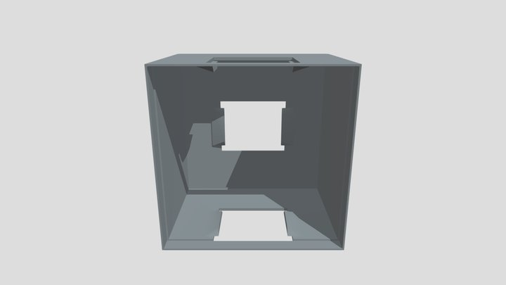 Pi Cube (Top) 3D Model