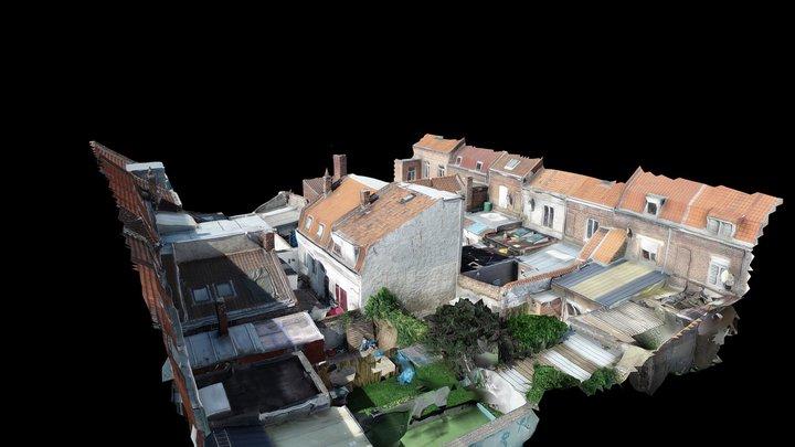 Croix - courée Lafargue Malice 2020 3D Model