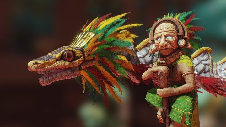 Quetzalcoatl & Huracan 3D Model