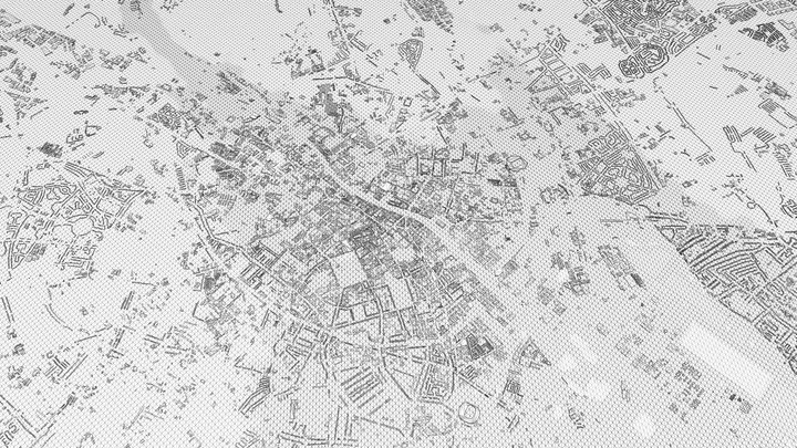 DUBLIN CITY 3D 3D Model