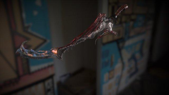 Infected sword 3D Model