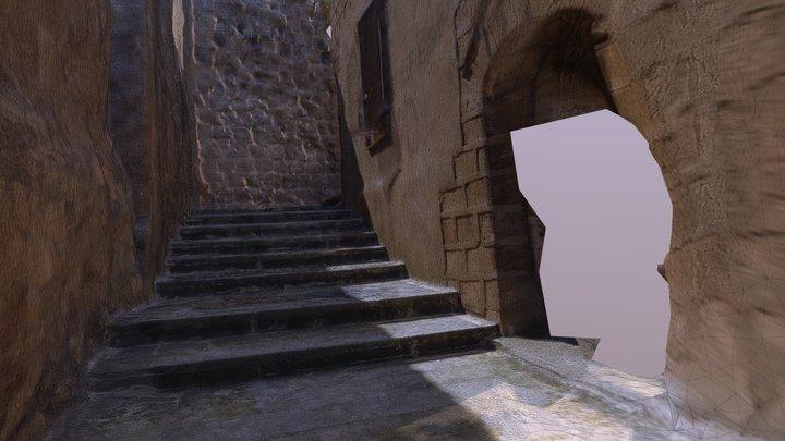 Eski Mardin Dar Sokaklar 3D Model