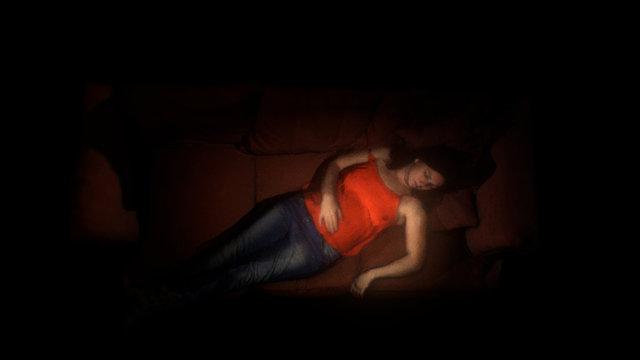 Ali Sleeping 3D Model