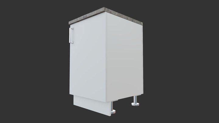 Cabinet Base Right 3D Model