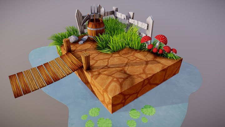 The Pond 3D Model