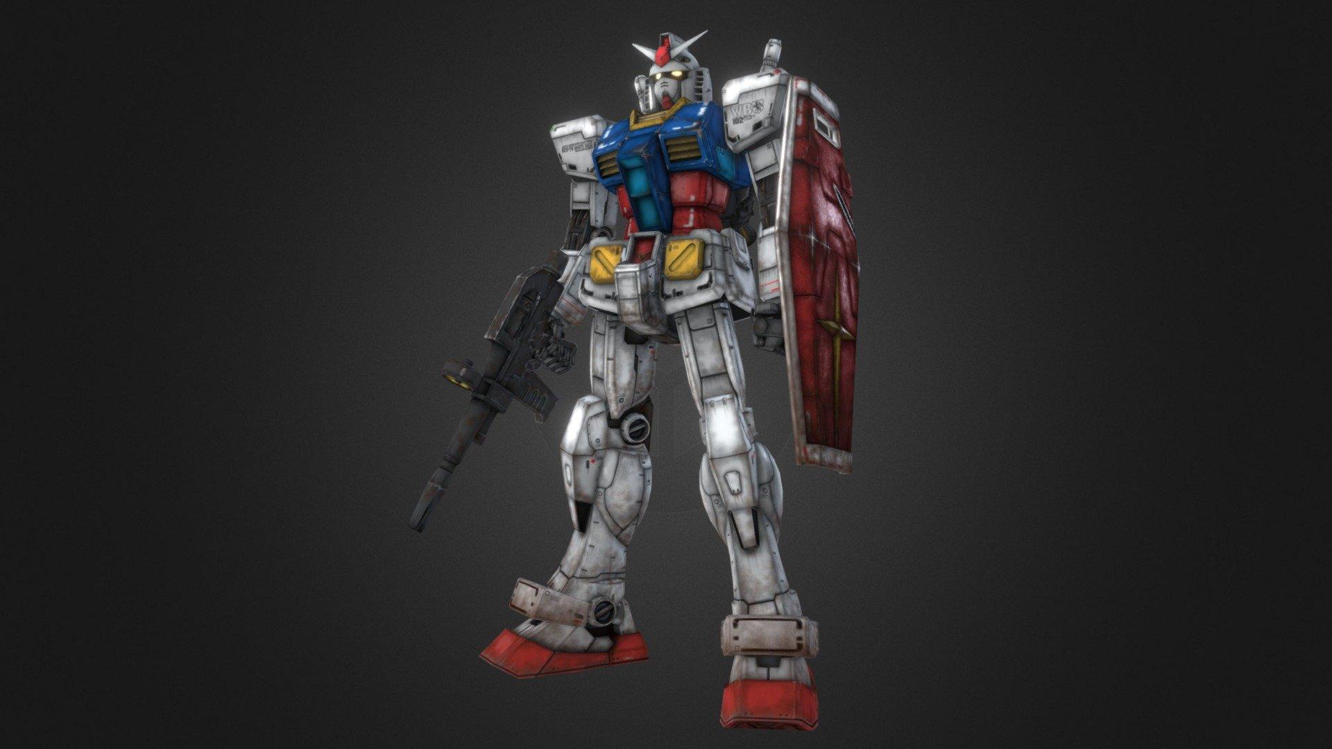 Gundam Rx 78 2 3d Model By Vito Bellomo Raiza88 2e11b20