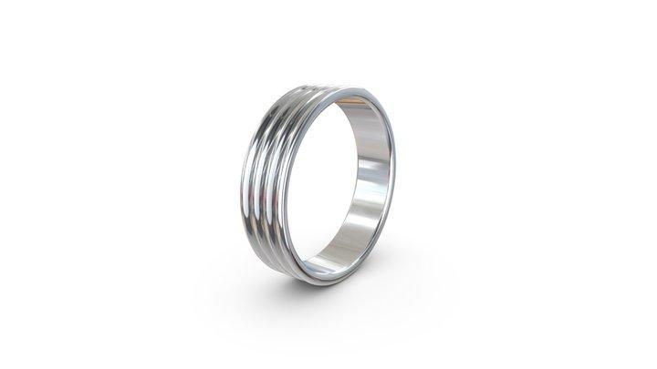 Wave Ring 3D Model