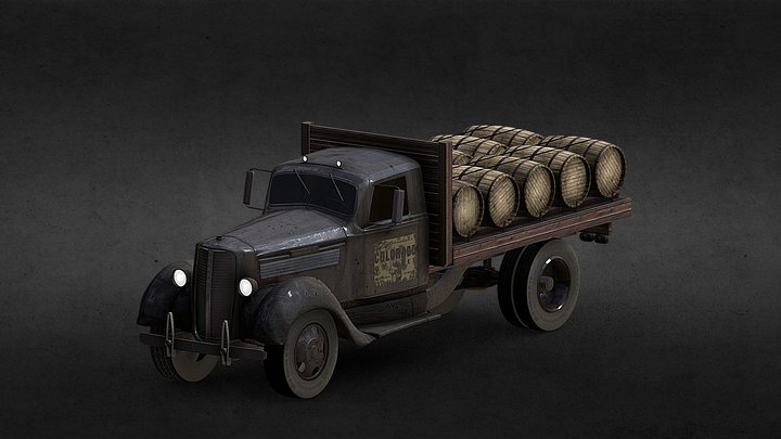 Stranahan's Truck 3D Model