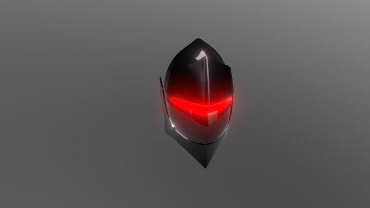 Fate Inspired Helmet 3D Model