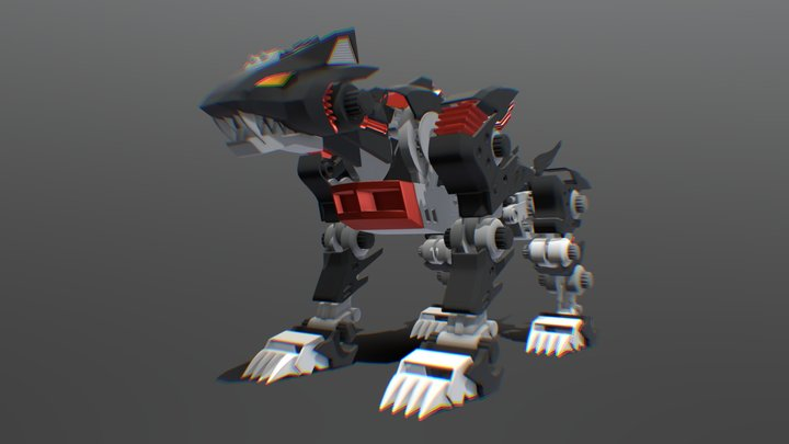 Lightning Saix 3D Model