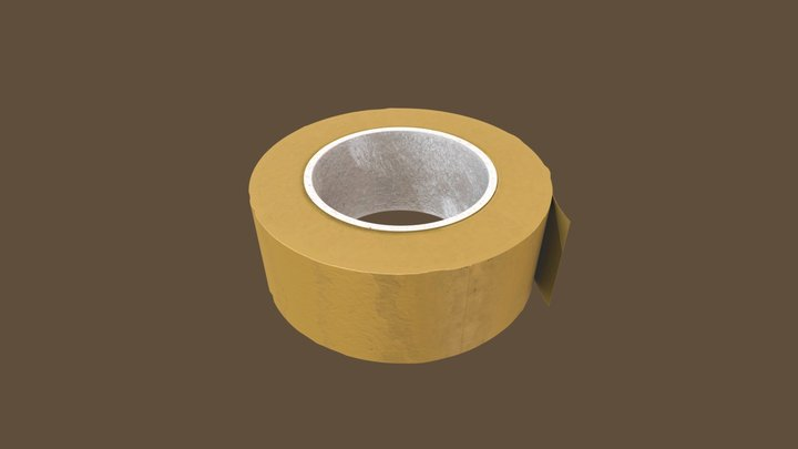 Duct tape (Low poly) 3D Model